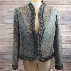 ESCADA Vintage cashmere/silk/wool blazer jacket
